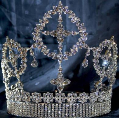 Eternal Beauty Rhinestone Crown Tiara