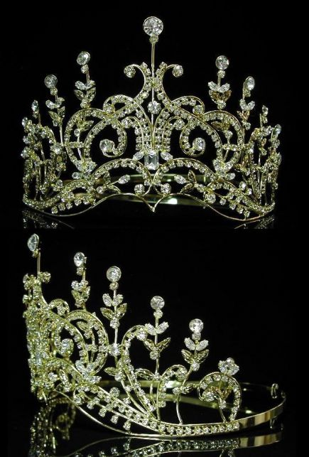 SMALL (Princess, Bridal) rhinestone crowns & tiaras